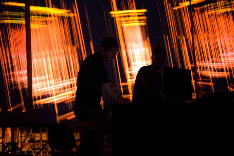 Claudio Sinatti & MUD (otolab): Technocarillion AV Liveset at Videodrome, Leoncavallo, Milan 2007
